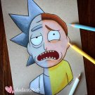 """RICK & MORTY"" ORIGINAL ARTWORK"