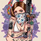 """TATTOED LEIA"" PRINT"