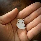 CAT GHOST PIN