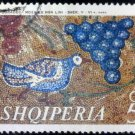 Albania 1970 Bird and Grapes Mosaic 5Q
