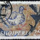 Albania 1970 Bird and Leaves Mosaic 25Q