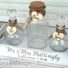Sand Ceremony Set for 3, Beach Rustic Wedding Unity Sand Ceremony. Personalized Wedding Ceremony