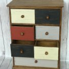 Jewelry chest, Jewelry Box Personalized, Mini Chest of Drawers.