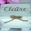 Bridesmaid Gift, Personalized Inside Engraved Box. Will You Be My Bridesmaid. Jewelry Keepsake.
