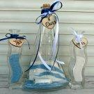 Family Unity Ceremony Sand Set for 2. Sailing boat Shaped. Custom Nautical Wedding. Wedding Gift