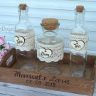 Sand Ceremony Set 2+1, Personalized Wedding Unity Sand Ceremony. Wedding Ceremony Wedding Gift.