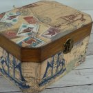 Birthday Gift For Him. Male Jewelry Box. Men's Wooden Keepsake Box. For Men. Father's Day gift.