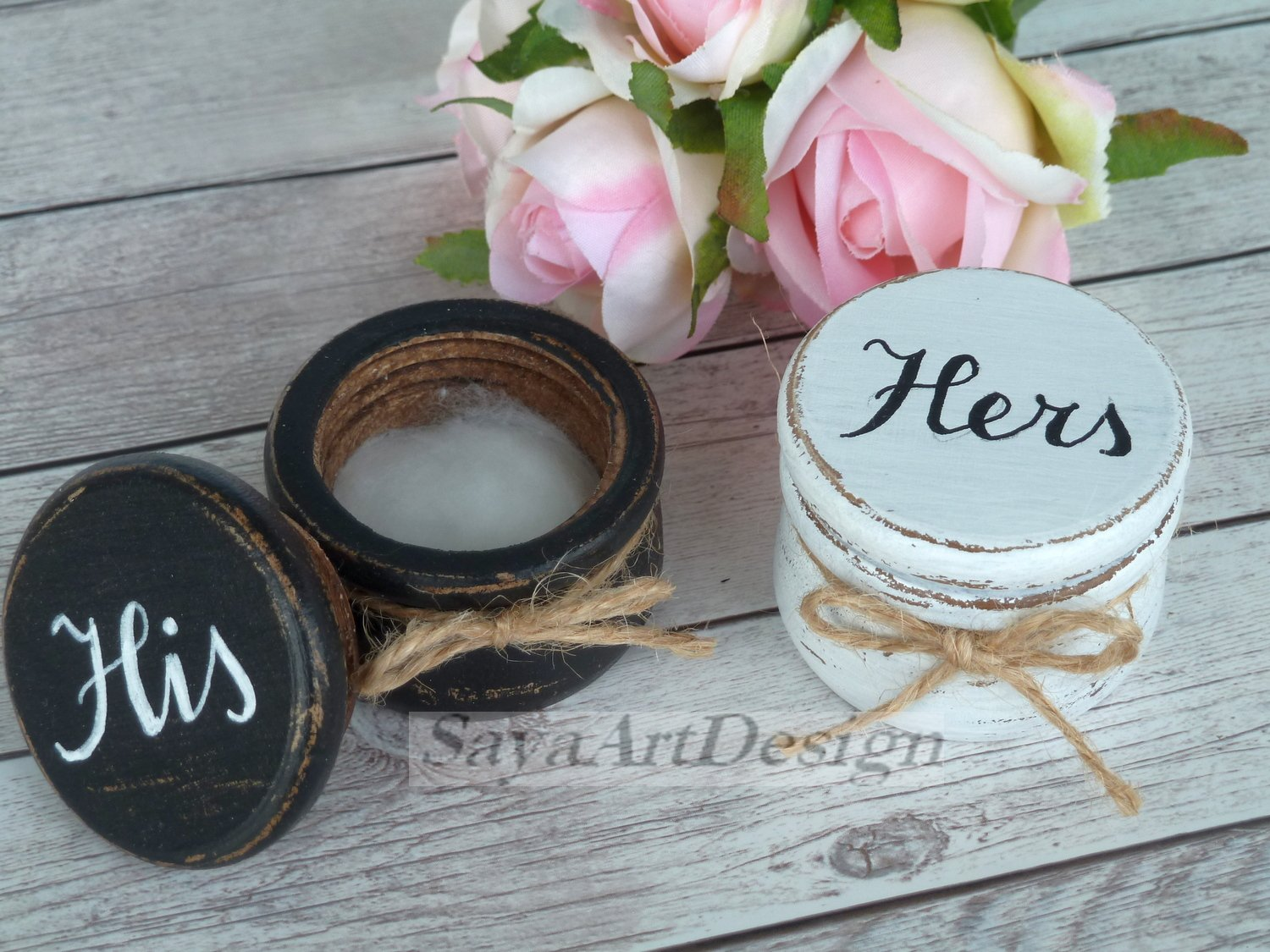 Wedding Ring Box Mr and Mrs. Wooden Ring Bearer Box. Bride And Groom Ring Pillow Box. Wood Rustic