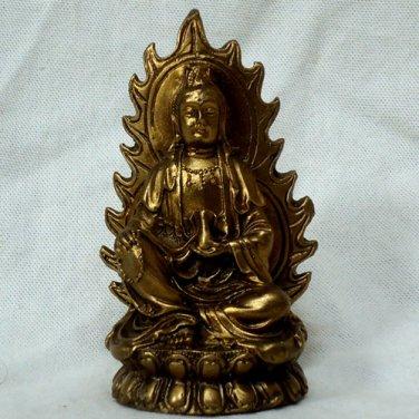 Female Buddha bronze Statue