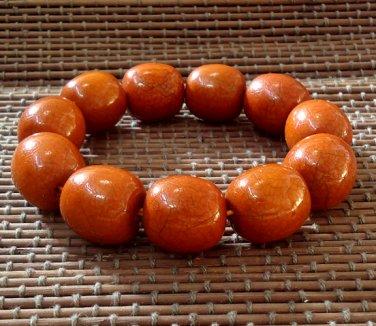 Prayer Beads Stretch Wooden Bracelet