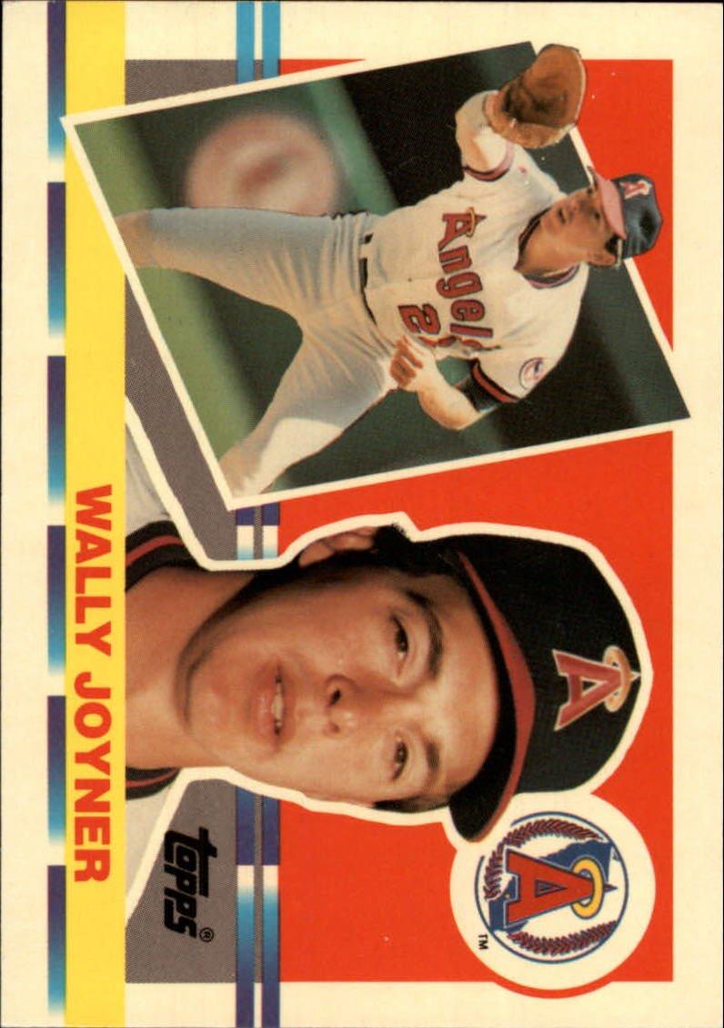1990 Topps Big 168 Wally Joyner