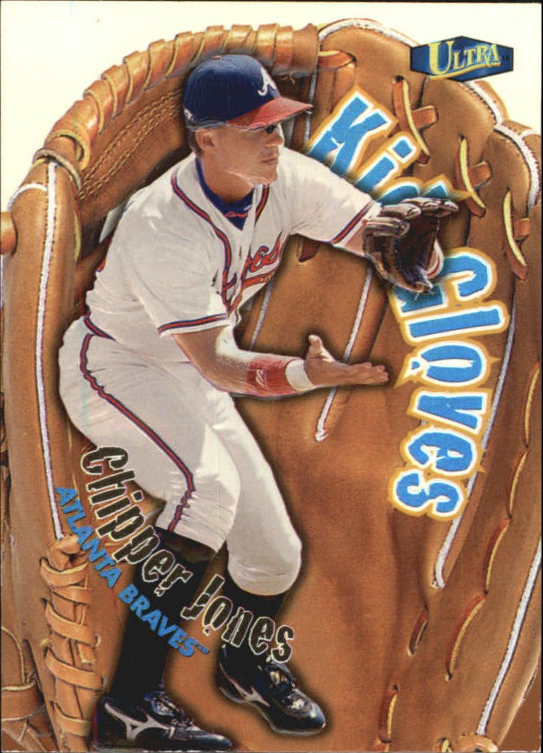 1998 Ultra Kid Gloves 4 Chipper Jones