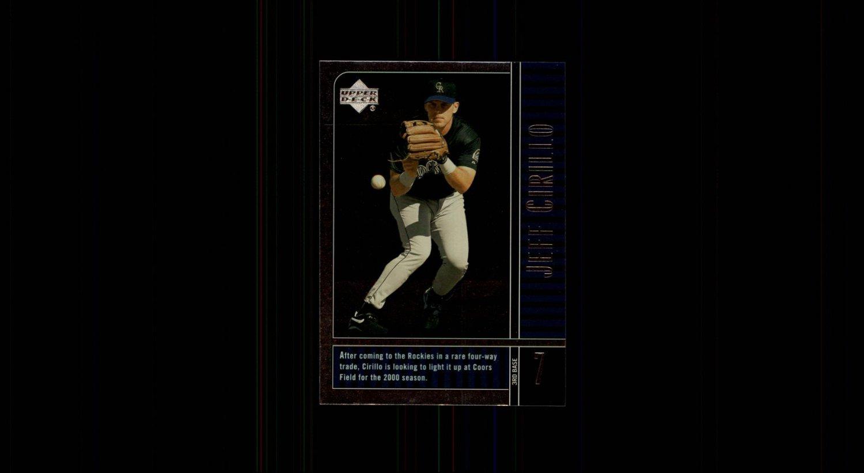 2000 Upper Deck Legends 74 Jeff Cirillo
