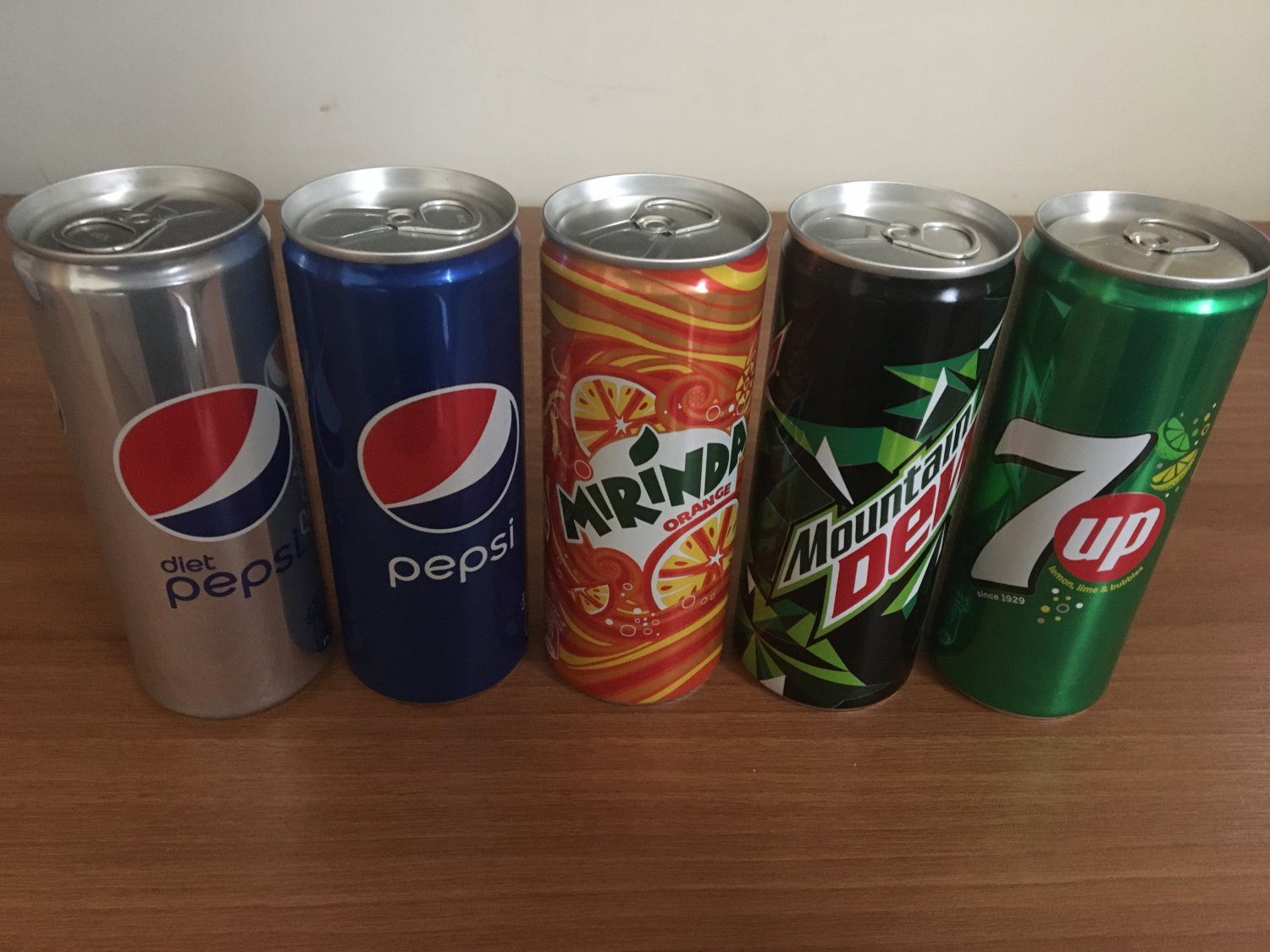 Pepsi Cans Collection (Unopened, Empty)