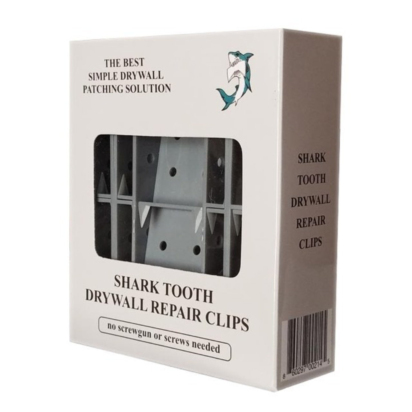 Sharktooth Drywall Repair Clips