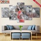 Michael Jordan Painting on Canvas Home Decor Wall Art Poster Print HD