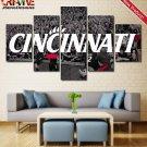 Cincinnati Bearcats Wall Art Painting Canvas Poster Print Decor Framed.