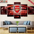 Arsenal F.C. Poster Home Decor Framed Wall Art Painting On Canvas.