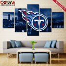 Tennessee Titans Wall Art Painting On Canvas Framed Titans Decor Football.