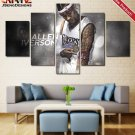 Allen Iverson Wall Art Painting On Canvas 76ers Poster Home Decor Print HD.