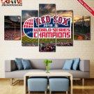 Boston Red Sox 2018 World Series Wall Art Poster HD Print Decor Canvas Painting