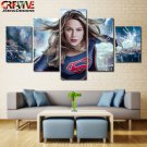 Supergirl Wall Art Decor Oil Painting On Canvas Framed Melissa Benoist Poster HD