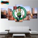 Boston Celtics Wall Art Painting On Canvas Framed Celtics Poster HD Basketball.