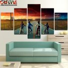 Stranger Things Wall Art Painting On Canvas Framed Horror Poster HD Home Decor.