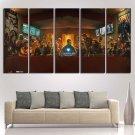 Avengers Infinity War Poster Print Canvas Fan Wall Art Painting Home Decor.