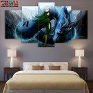 Final Fantasy Painting On Canvas Final Fantasy Wall Art Poster HD Framed.