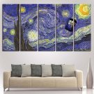 Doctor Who Stary Night Poster Print Canvas Wall Art Oil Painting Home Decor.