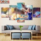 Game of Thrones Wall Art Decor Oil Painting Canvas Framed Fantasy Dragon Poster