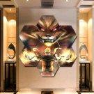 Naruto Uzumaki Wall Art Painting Canvas Poster Print Home Decor 7 Hexagon Panels