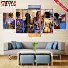 Pink Floyd Back Catalogue Poster Print Canvas Painting Home Decor Wall Art