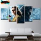Disney Beauty and the Beast Wall Art Decor Painting Canvas Emma Watson Poster HD.