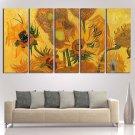 Sunflowers Van Gogh Poster Print Canvas Wall Art Oil Painting Decor Framed.