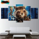 Guardians of the Galaxy Wall Art Decor Painting Canvas Framed Baby Groot Poster HD.