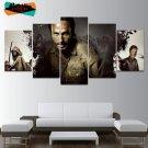 The Walking Dead Horror Wall Art Decor Painting Canvas Framed AMC Horror TV.