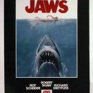 "Jaws Movie Poster Print HD Wall Art Home Decor Silk 27"" x 40"""