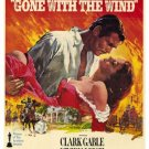 """Gone With The Wind Movie Poster Print HD Wall Art Home Decor Silk 27"""" x 40"""""""