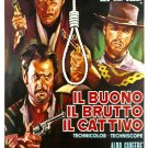 """The Good The Bad And The Ugly Movie Poster Print HD Wall Art Home Decor Silk 27"""" x 40"""""""