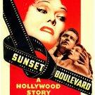"""Sunset Boulevard Movie Poster Print HD Wall Art Home Decor Silk 27"""" x 40"""""""