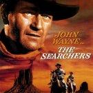 "The Searchers Movie Poster Print HD Wall Art Home Decor Silk 27"" x 40"""