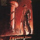 """Indiana Jones and the Temple of Doom Movie Poster Print HD Wall Art Home Decor Silk 27"""" x 40"""""""