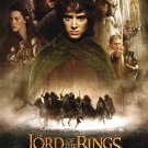 """Lord of the Rings 1 Movie Poster Print HD Wall Art Home Decor Silk 27"""" x 40"""""""