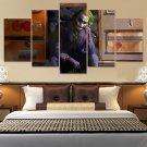BatmanThe Joker Canvas Wall Art  Framed Decor Poster Print