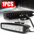 18W 800LM Spot LED Bright Light Work Bar Driving Fog Offroad Car Lamp For Truck