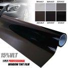 Black 15% Car Auto Window Tint Film Roll House Glass Cover Tinting 50cm x 1m