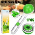 Circular Paper Cutter Scissors Round Cut Paste Circle Paper Craft 70*120*40mm