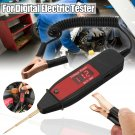 Car Digital LCD Electric Voltage Test Pen Probe Detector Tester LED Light 5-36V